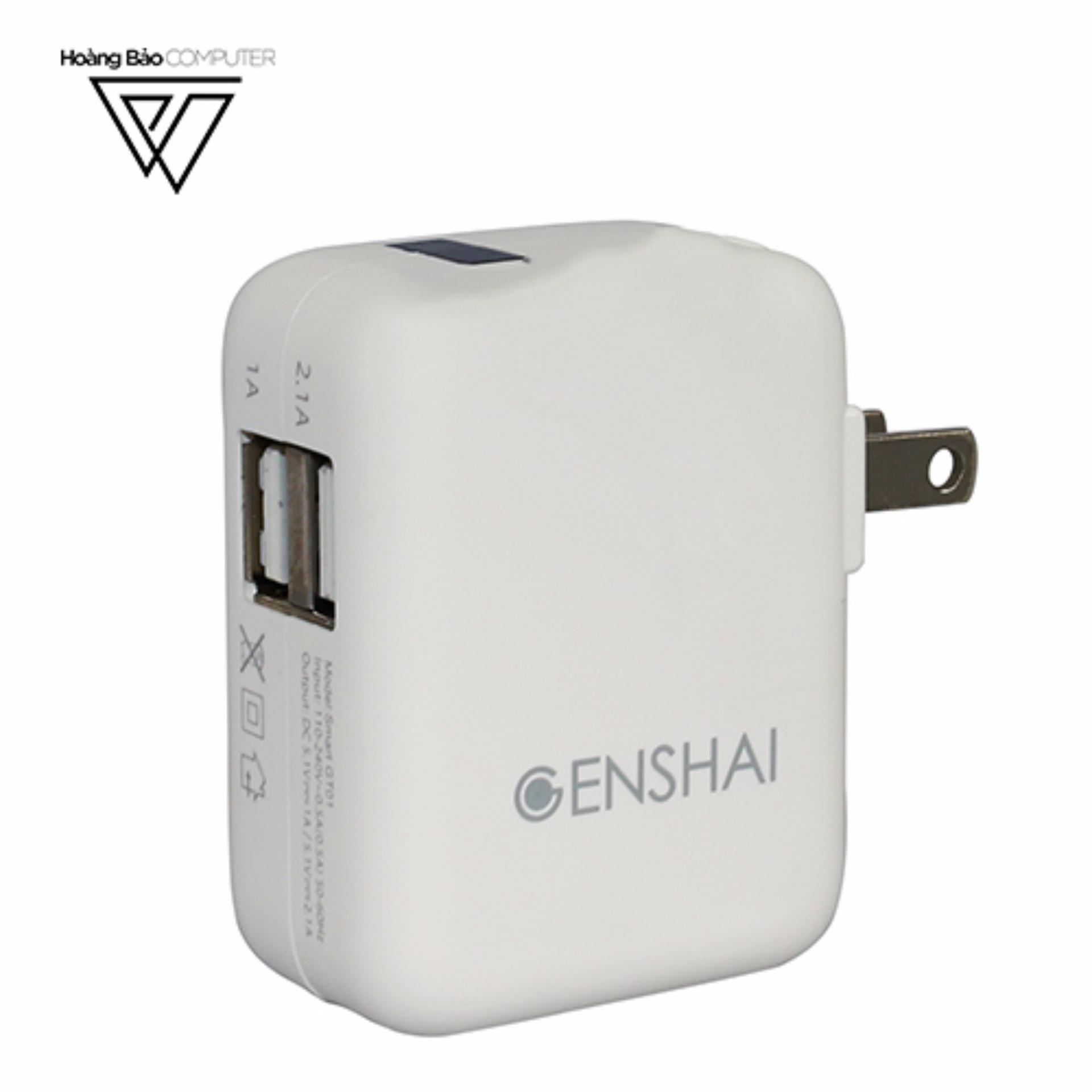 SẠC AC TIỆN DỤNG GENSHAI SMART GT01 - Hãng phân phối chính thức