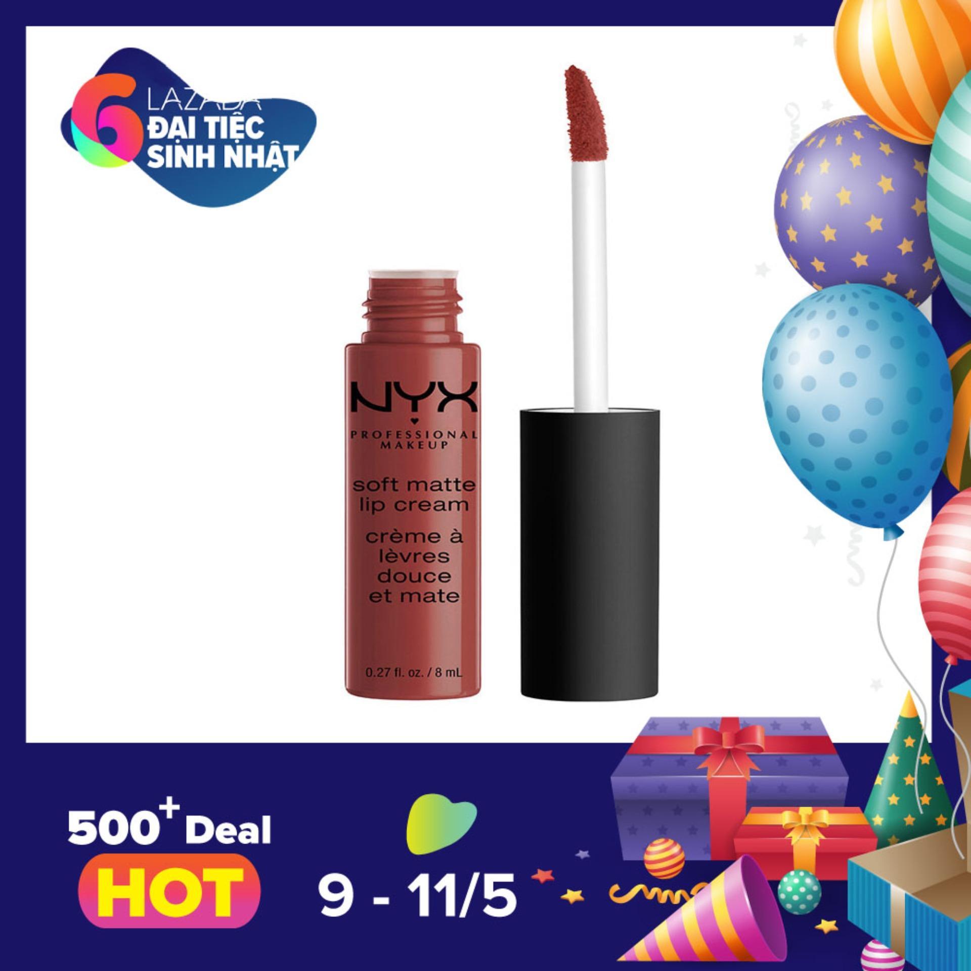 Mua Son Kem Nyx Professional Makeup Soft Matte Lip Cream Smlc32 Rome Nyx Rẻ