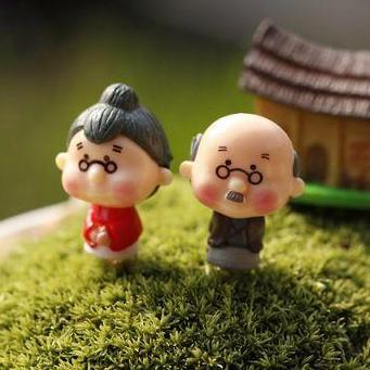 Hình ảnh Charm Ông Bà Anh - Nguyên Liệu Làm Trang Trí Slime