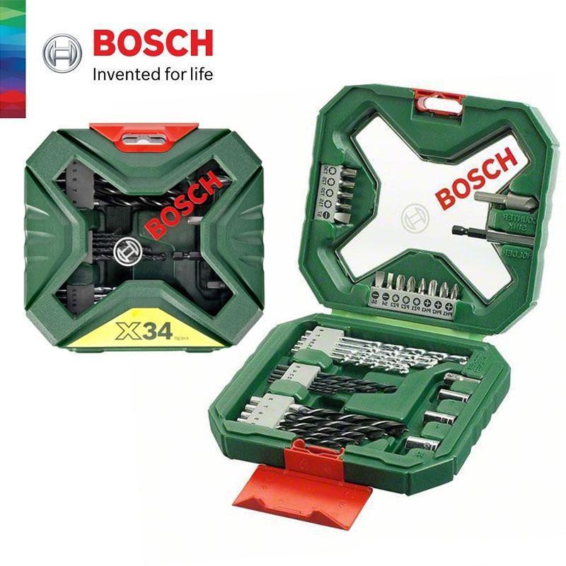 Bộ Mũi Khoan Và Vặn Vít  Bosch 34 Món X-Line