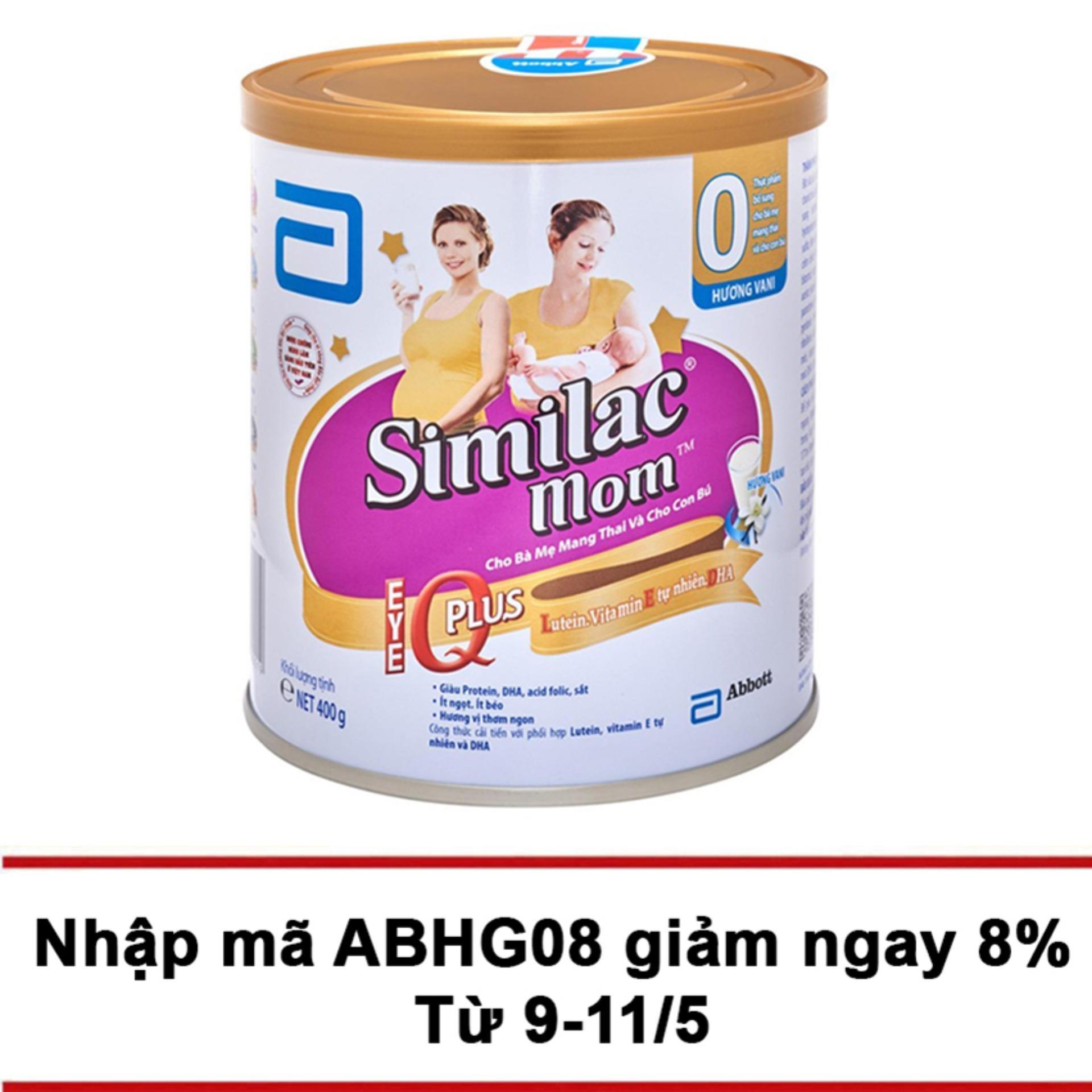 Mua Sữa Bột Similac Mom Hương Vani 400G Rẻ