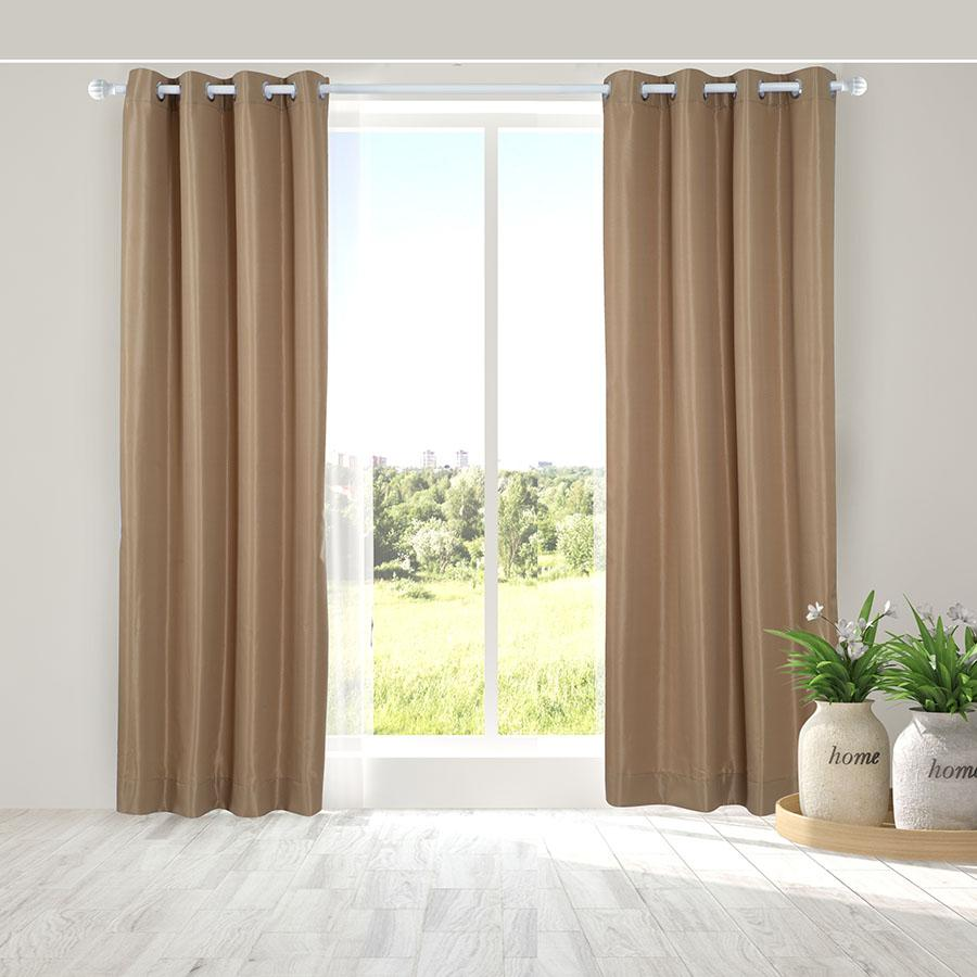 Mã Khuyến Mại Man Cửa Đơn Khoen Miss Curtain 135X220Cm An605 Hemp Rẻ