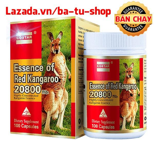 Hình ảnh Viên uống nâng cao sinh lý Costar Essence of Red Kangaroo 20800 Max (100 viên)