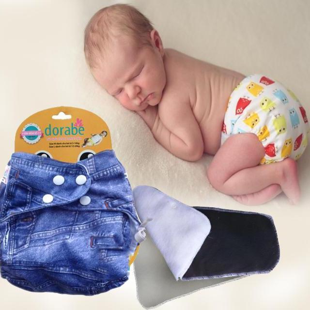 Bỉm vải ban đêm Dorabe cho bé