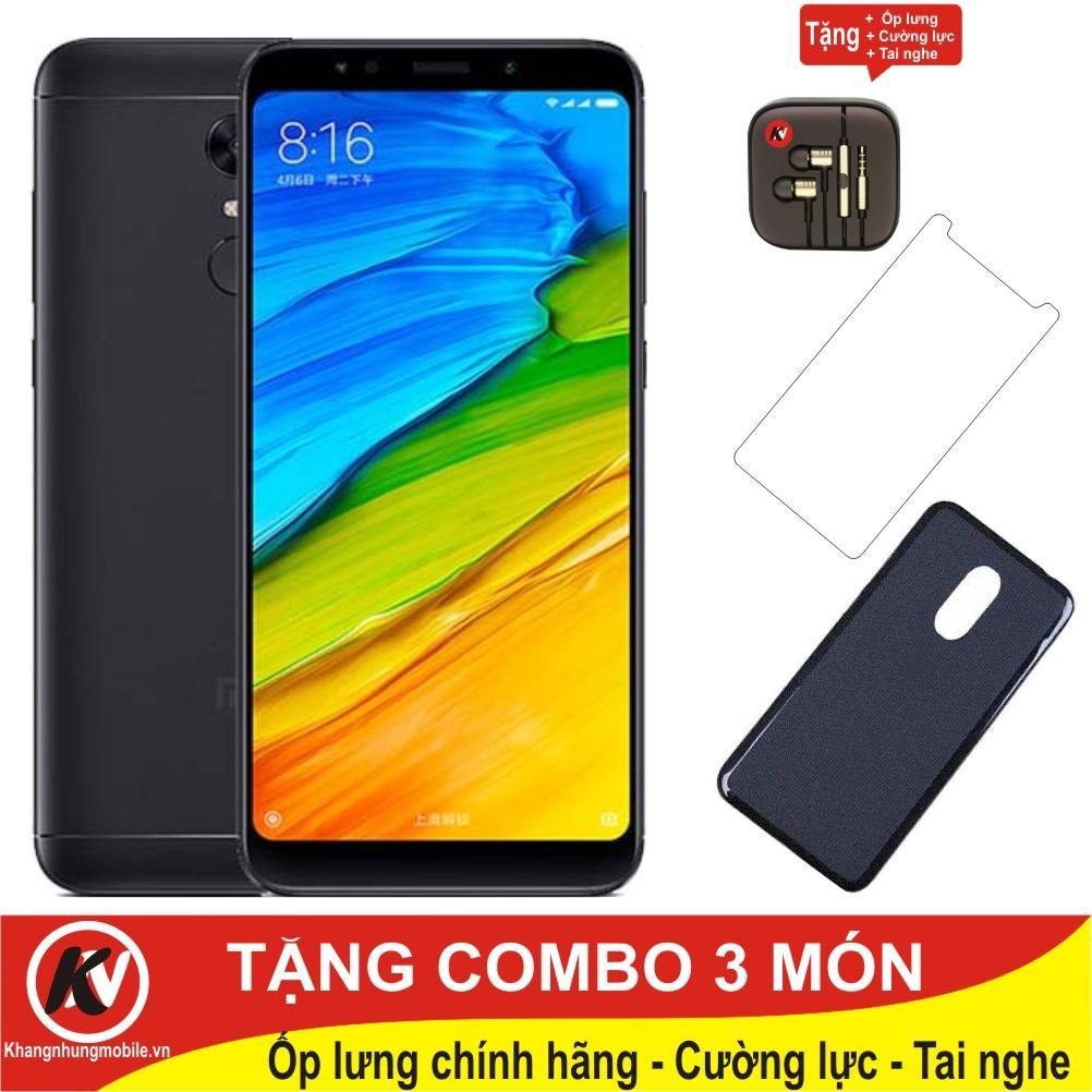 Cửa Hàng Xiaomi Redmi 5 Plus 32Gb Ram 3Gb Đen Hang Nhập Khẩu Ốp Lưng Cường Lực Tai Nghe Nhet Tai Hà Nội