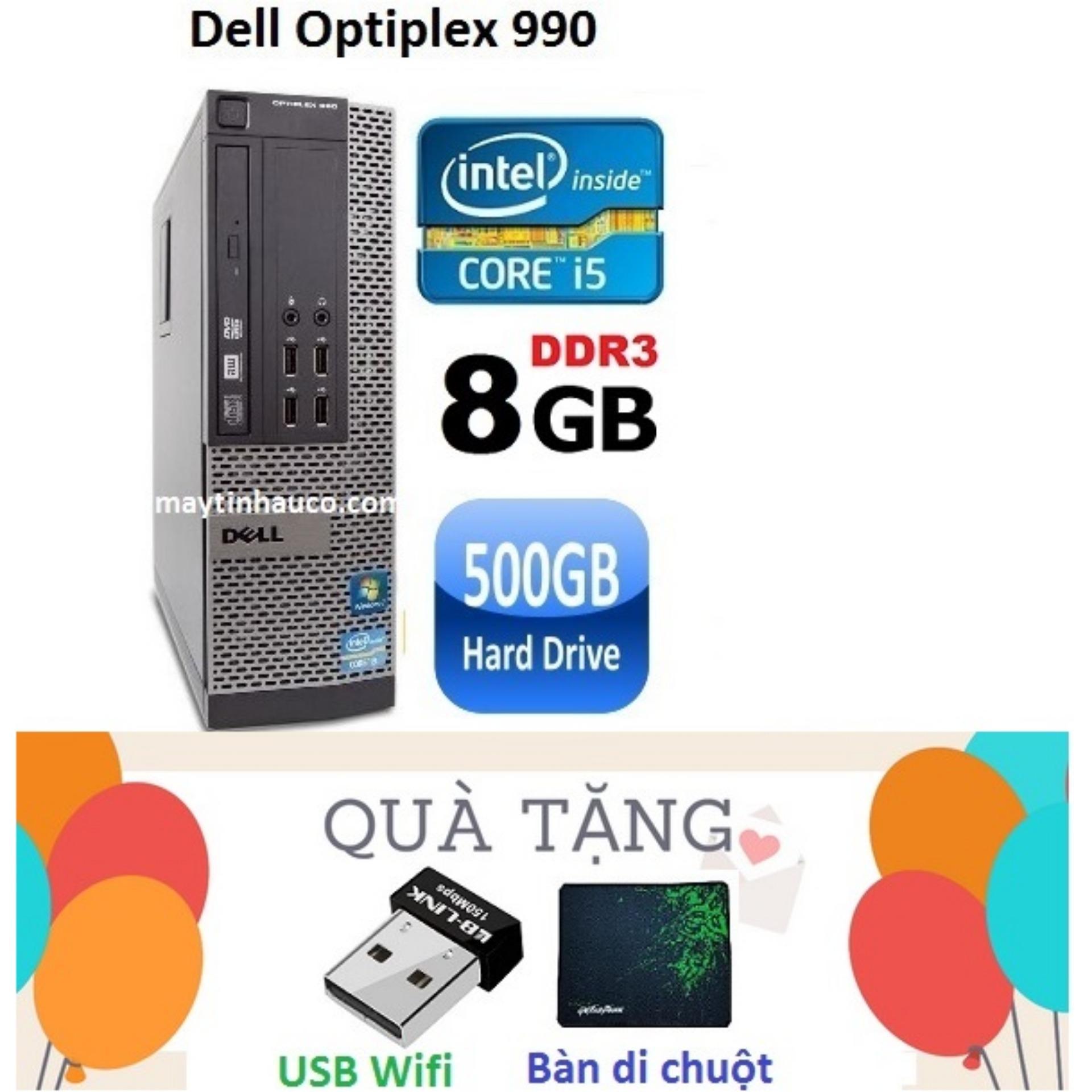 Hình ảnh Đồng Bộ Dell Optiplex 990 Core i5 2400 / 8G / 500G - Tặng USB Wifi , Bàn di chuột , Bảo hành 24 tháng
