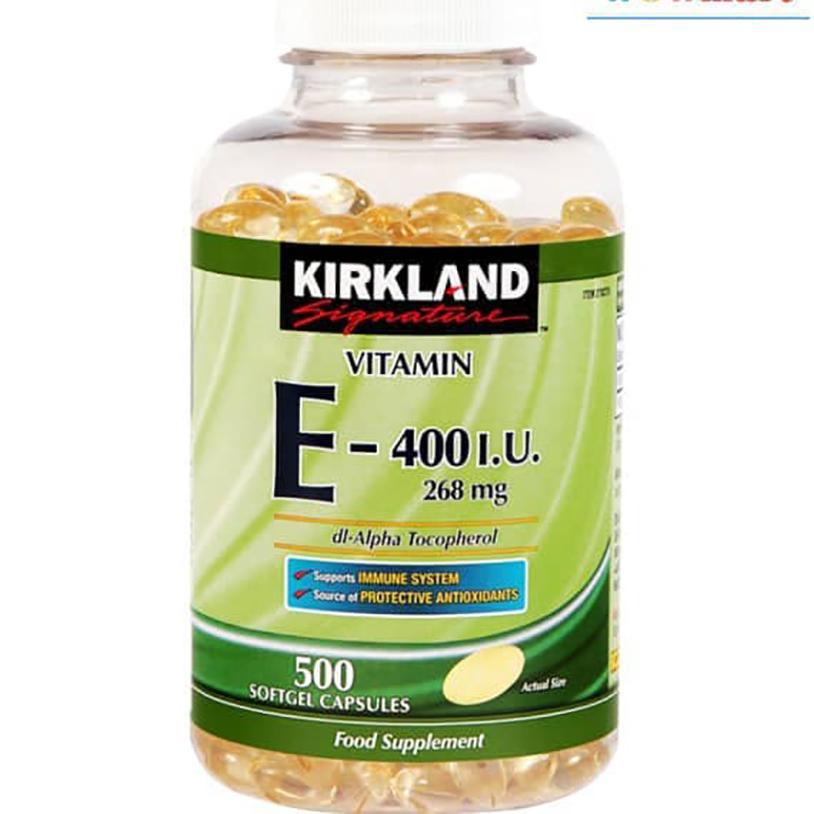 Mua Vien Vitamin E Lam Đẹp Da Kirkland Signature Vitamin E 400 Iu 500 Vien Mỹ Trực Tuyến