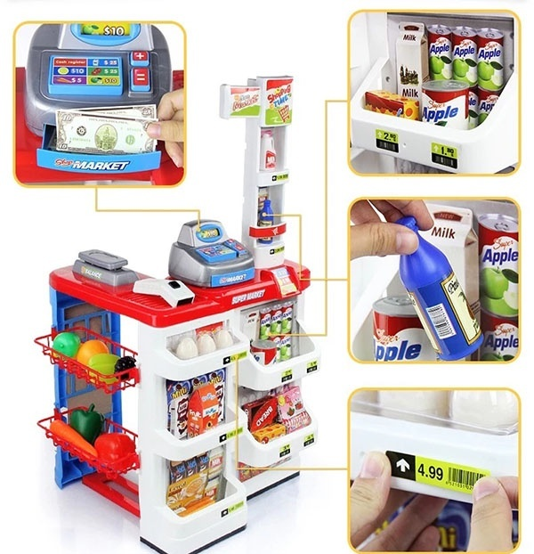 Bộ thu ngân xe đẩy siêu thị 14