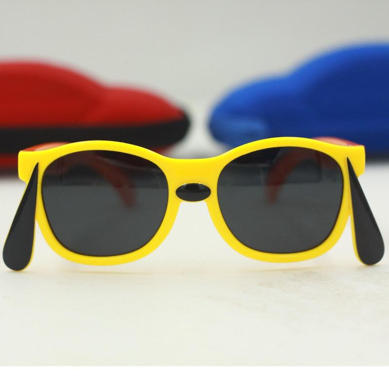 Giá bán [Chú ý, giá rất sốc] Bé đáng iêu với kính mắt thời trang-Chống UV-Gọng dẻo G156-02 + Tặng hộp đựng cao cấp