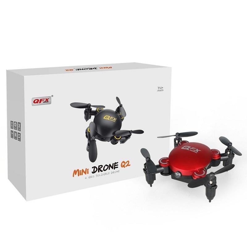 Hình ảnh Drone Mini Flycam Q2 4 trục 2.4Ghz 0.3MP Camera HD 3D kết nối không dây Wifi QFX