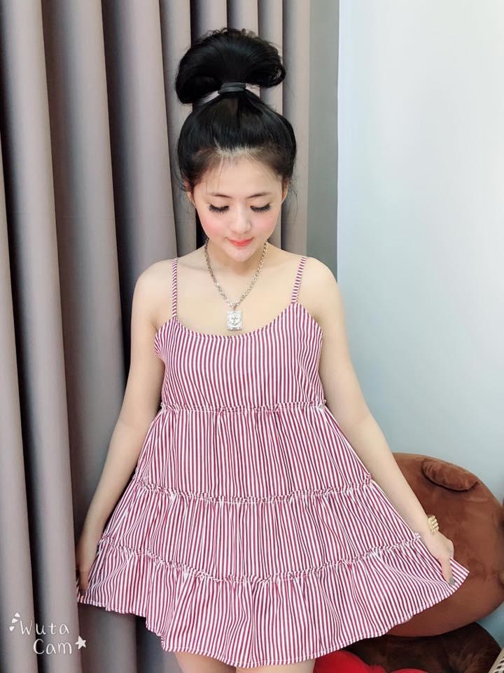 Mua Đồ Ngủ Pijama Kimono Đồ Bộ Ngủ Đầm Ngủ Thai Đầm Ngủ Hai Day Sọc Oem Rẻ