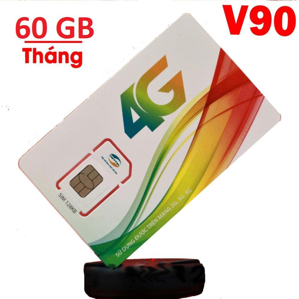 Hình ảnh SIM 4G VIETTEL V90, 60GB MỘT THÁNG