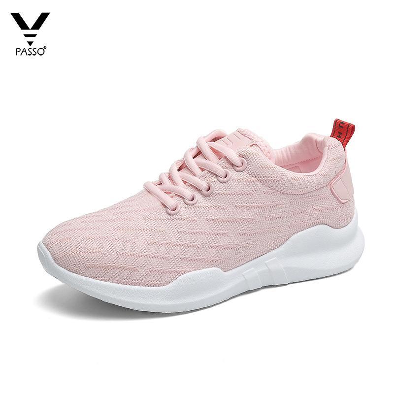 Giá Bán Giay Sneaker Nữ Han Quốc Passo G045 Hồng Rẻ Nhất