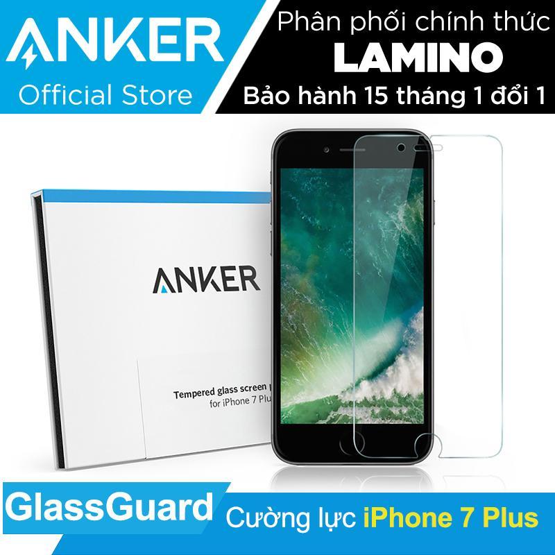 Giá Bán Miếng Dan Cường Lực Anker Glassguard Cho Iphone 7 Plus Trong Suốt Hang Phan Phối Chinh Thức Mới