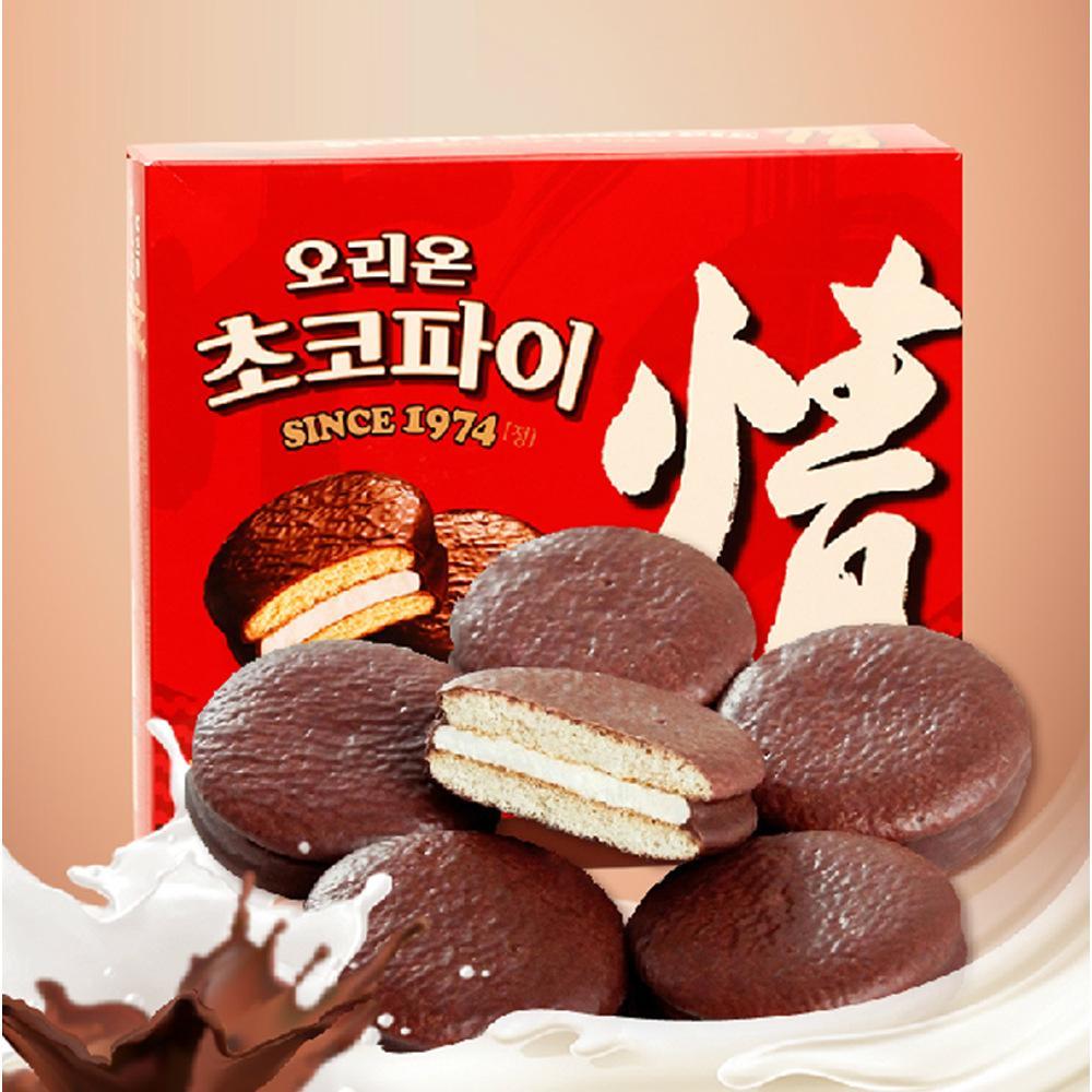 Hình ảnh Bánh ChocoPie ORION nhập khẩu từ Hàn Quốc