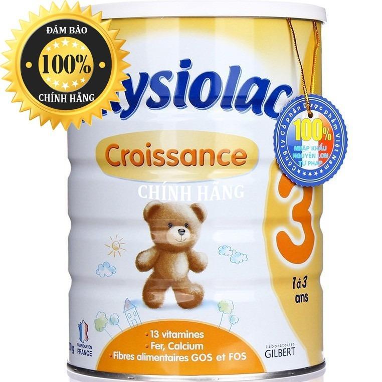 Sữa Physiolac số 3 900g ( Sữa Physiolac 3 của Pháp )