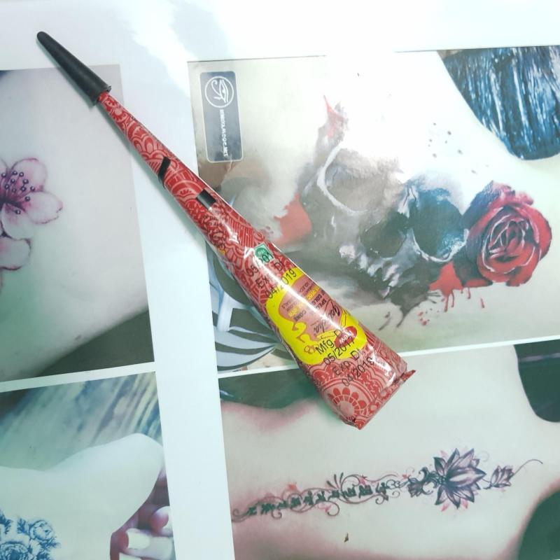 Mực vẽ Henna màu đỏ cao cấp