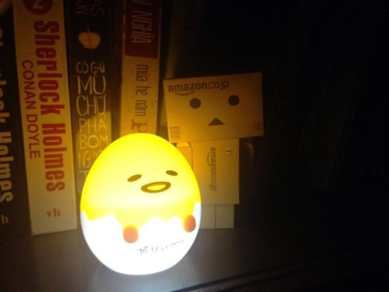 Bảng giá Đèn ngủ tự động sáng khi trời tối hình trứng gà
