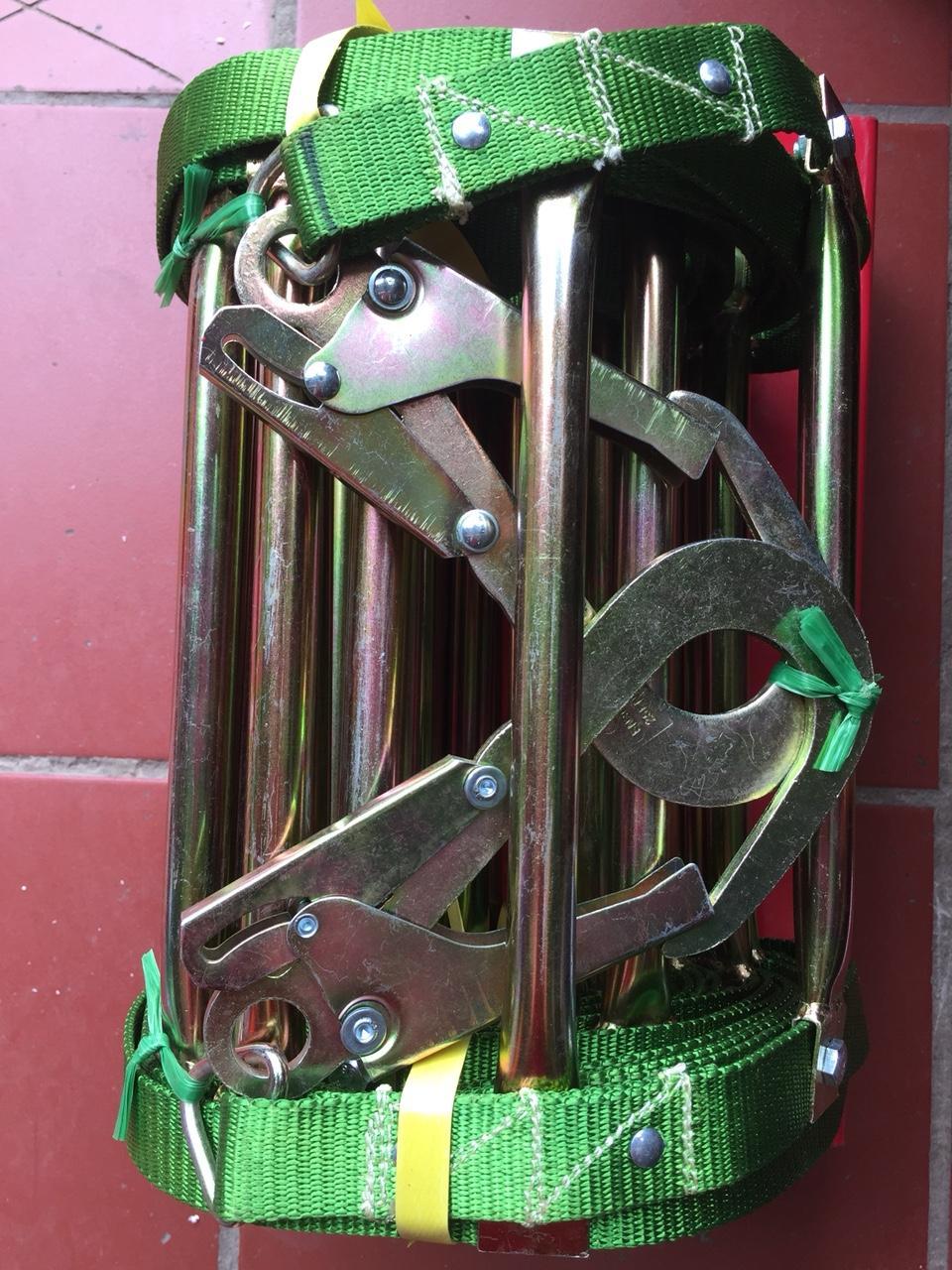 Thang dây 15m, thang dây thoát hiểm, thang dây thả chậm