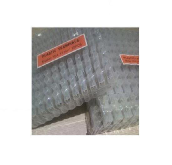 Hình ảnh Domino nhựa trắng 4mm - Lốc 10 cây