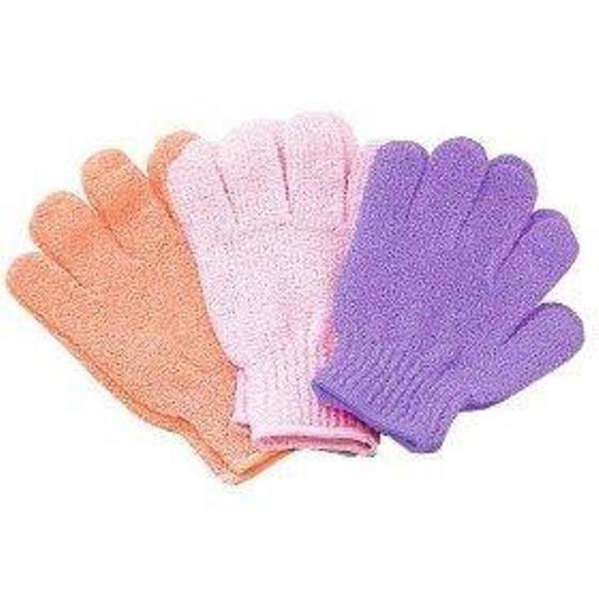 Hình ảnh Combo 3 đôi găng tay tắm Nhật Bản (Có nhiều màu)