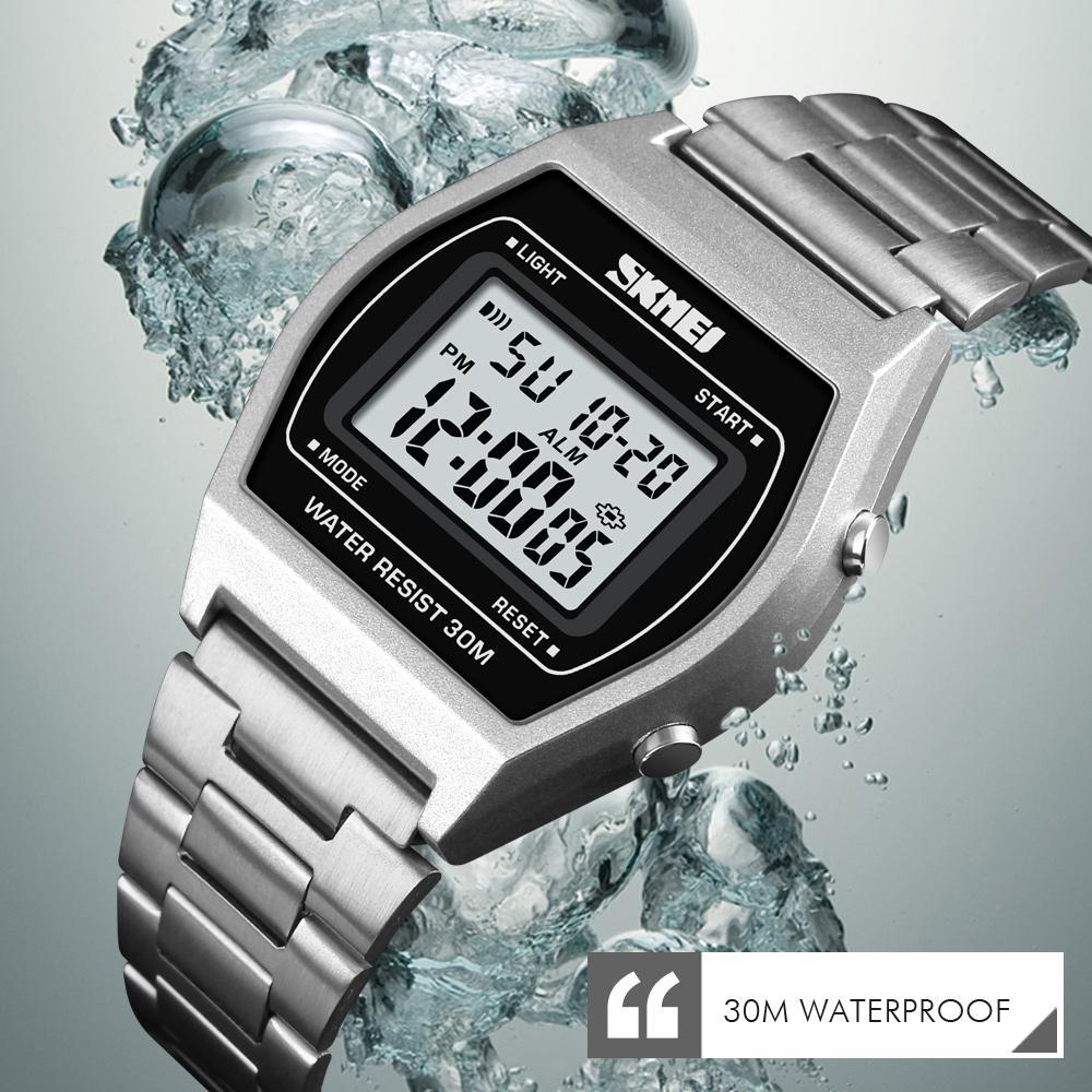 SKMEI Brand Watch Men Luxury Digital Watch Stopwatch Fashion Man Clock 12/24 Hour Outdoor