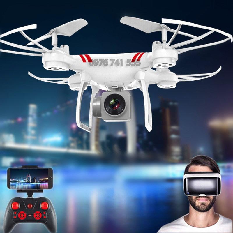 Hình ảnh Máy bay Flycam KY101 Cao cấp, kết nối Wifi với điện thoại + Tặng tay cầm điều khiển từ xa