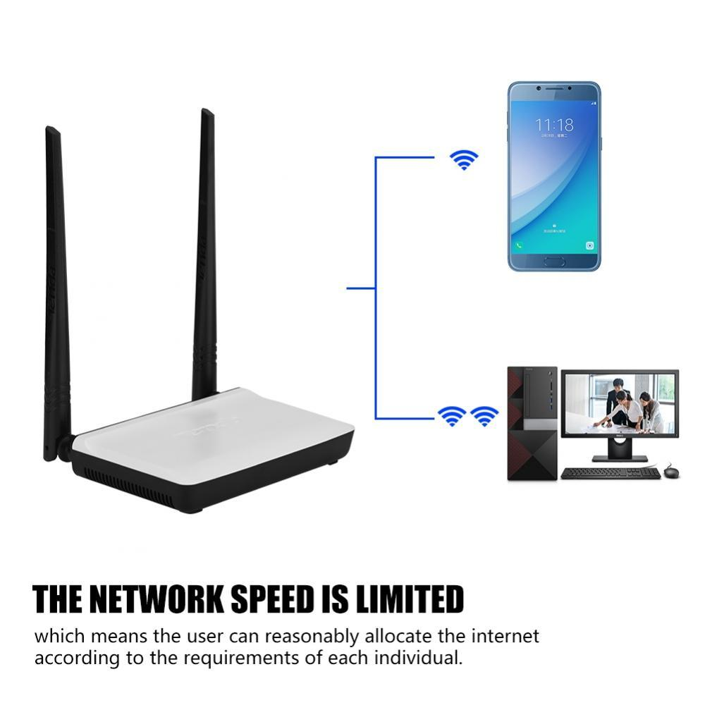 Tenda Tengda N300 Dual Home Antenna Wireless Router Wifi 300mbps N301 Wireles 4port 2 Antena Gii Thiu Transmission Rate England Intl