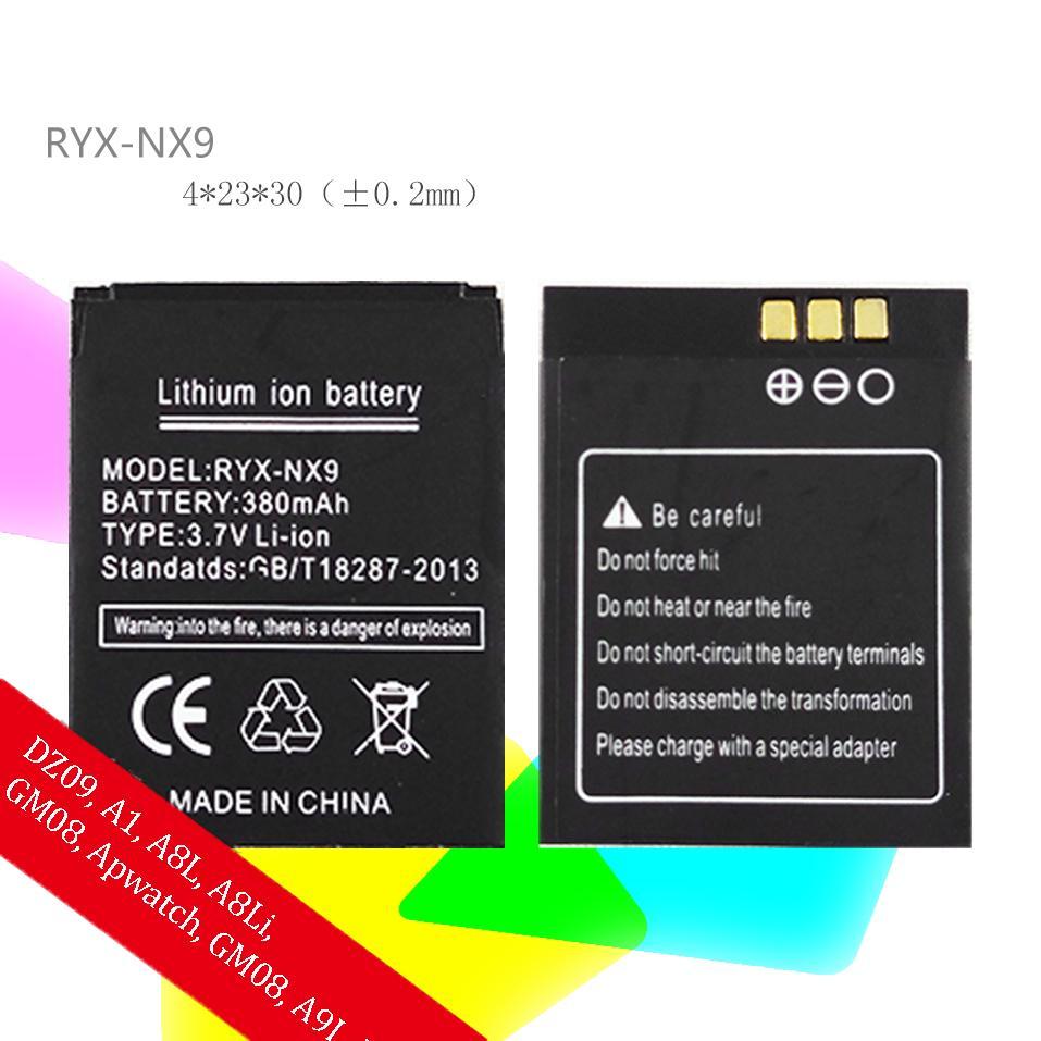 Hình ảnh Pin cho đồng hồ thông minh A1/ DZ09/ A8L/ A9L/ GM08