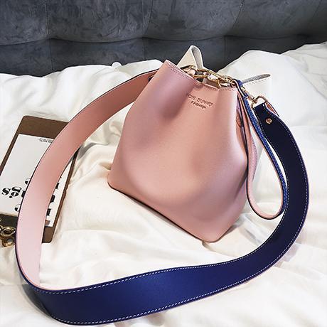 Summer Small Bag Female 2018 New Style Fashion Portable Shoulder Bag Korean Style Broadband Versatile Shoulder Bag Girls Bucket Bag