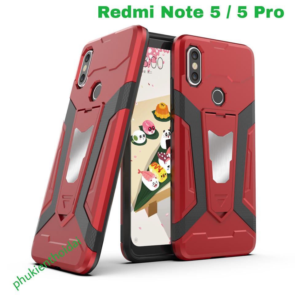 Hình ảnh Xiaomi Redmi Note 5 / 5 Pro ốp lưng chống sốc Iron Man Pro cao cấp ( mẫu mới )