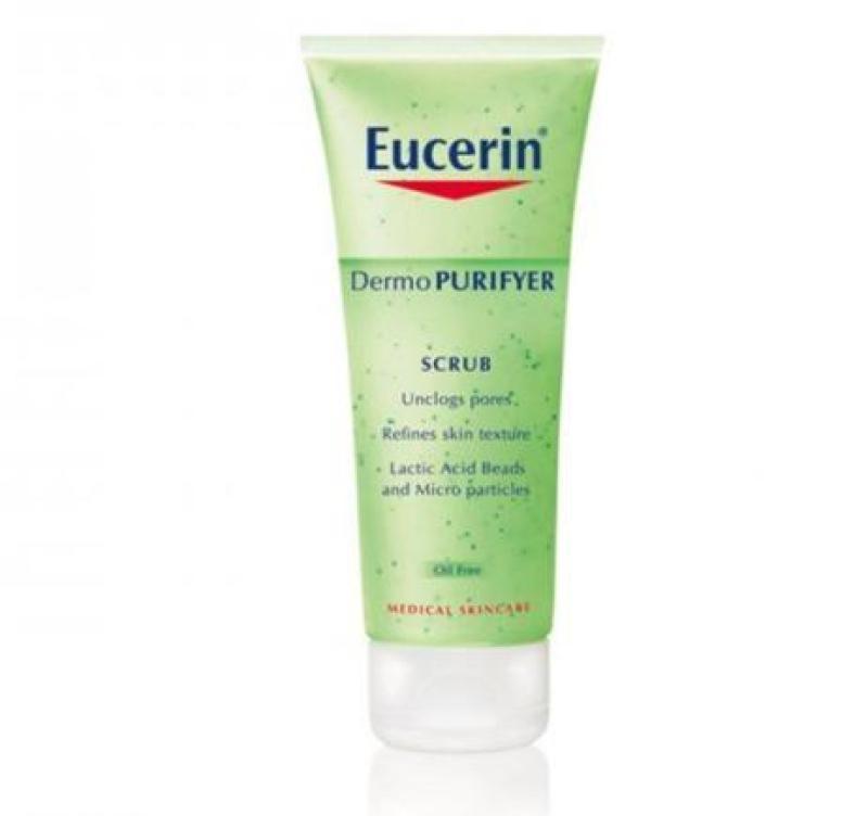 [Eucerin]Kem tẩy tế bào chết ngăn ngừa mụn Eucerin Dermo Purifyer Scrub