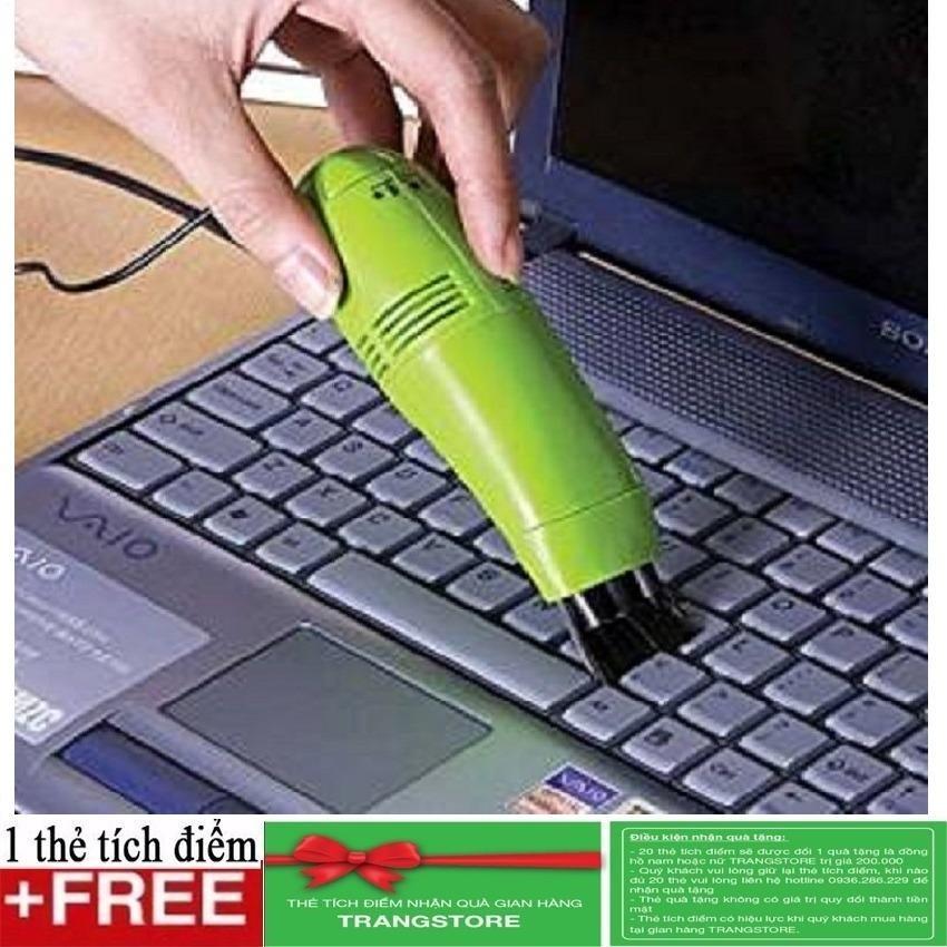 Hình ảnh Máy hút bụi laptop mini + Tặng kèm 1 thẻ tích điểm tại gian hàng Trangstore