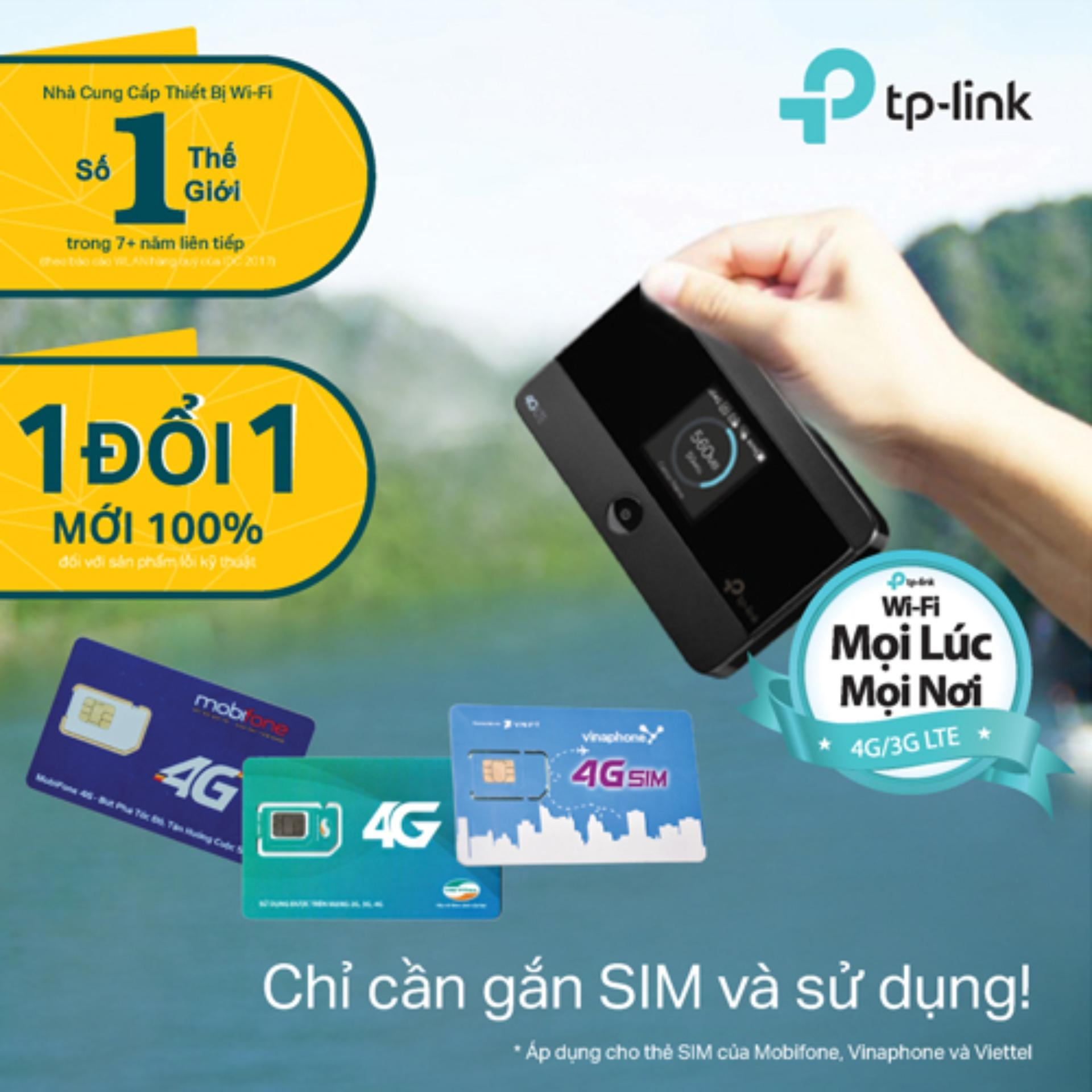 Bán Mua Trực Tuyến Tp Link M7350 Bộ Phat Wifi Di Động 4G Lte Hang Phan Phối Chinh Thức