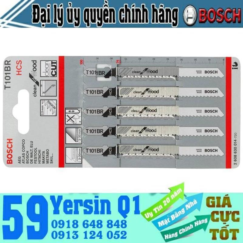 Lưỡi cưa lộng cho gỗ T101BR (vĩ = 5 lưỡi) Bosch - 2608630014
