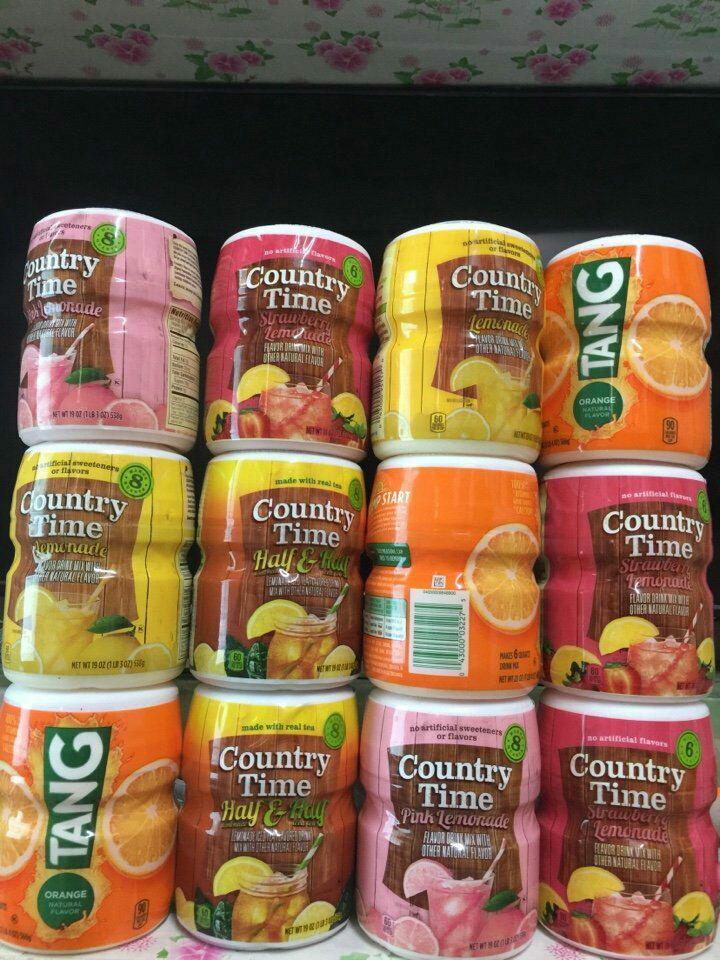 Hình ảnh BỘT TRÁI CÂY HÒA TAN GIÚP GIẢI NHIỆT TỪ MỸ (Country Time/Kool Aid)
