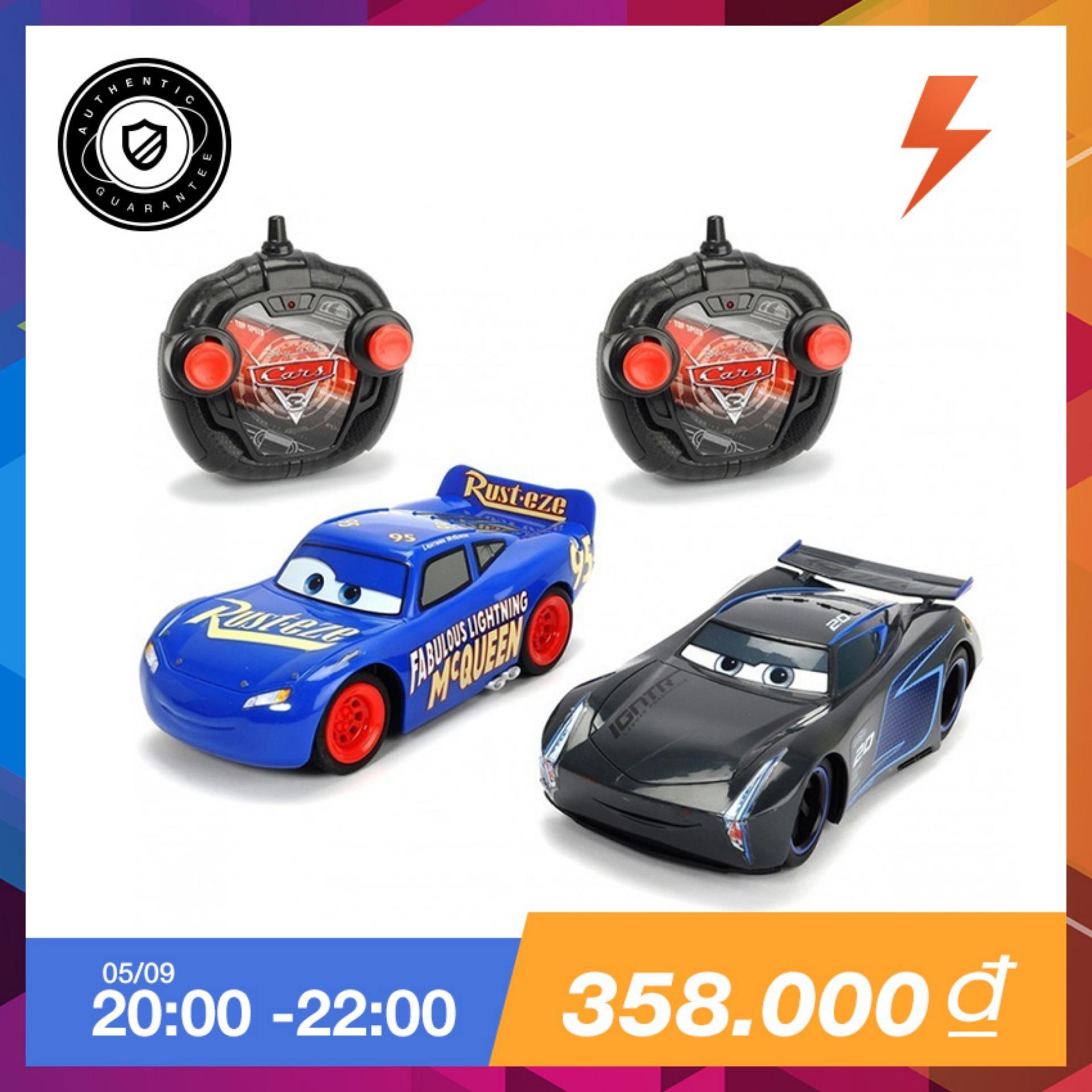 Giá Bán Bộ 2 Xe Điều Khiển 1 24 Final Race Lightning Mcqueen Jackson Cars3 203087009 Trong Vietnam