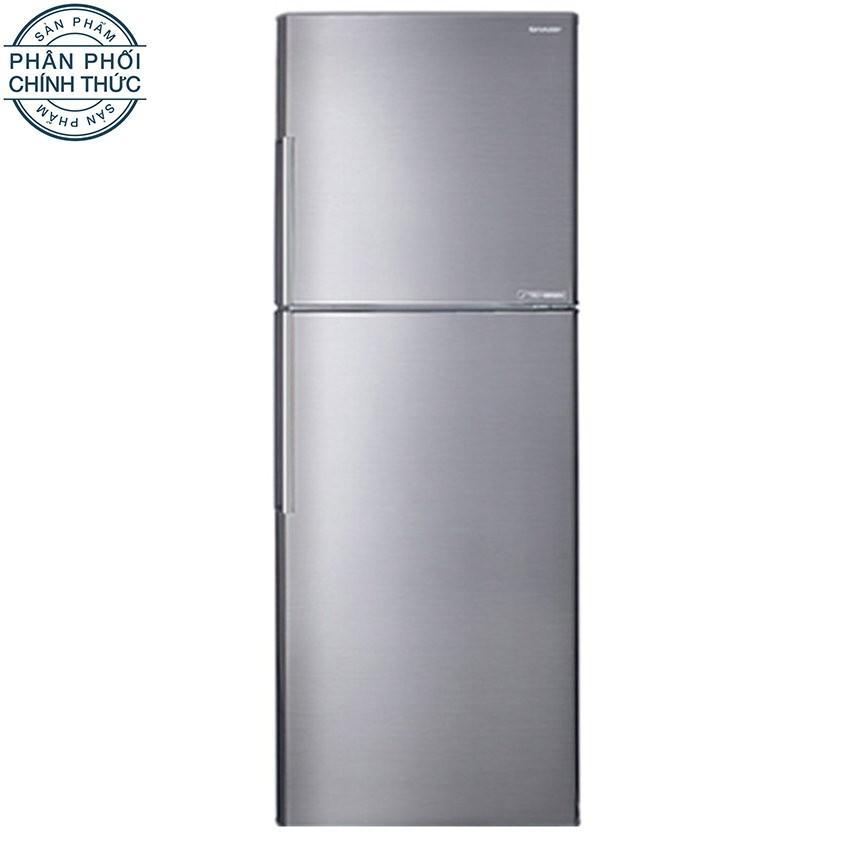 Giá Bán Tủ Lạnh Sharp Apricot Sj X346E Sl 342L Bạc Giống Thep Khong Gỉ Nhãn Hiệu Sharp