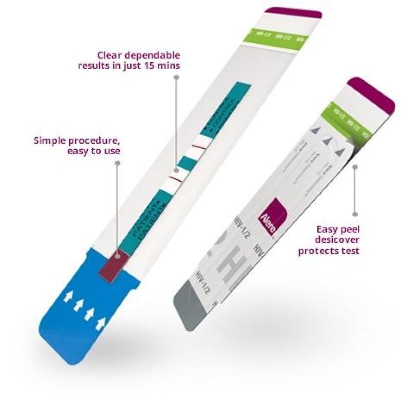 Bộ thử HIV tại nhà FASTEP HIV 1/2 1 kit chính xác 99,95%. (Hàng Nhập khẩu Mỹ)