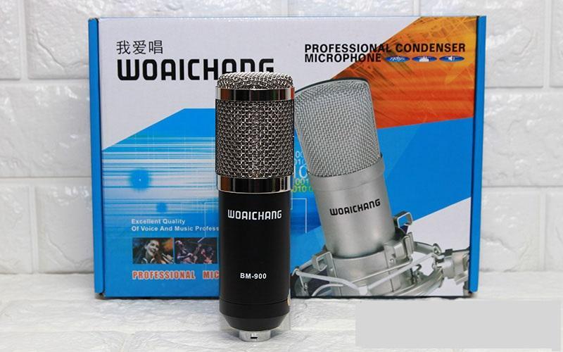 Bộ Combo Thu Am Xox K10 Mic Bm900 Kẹp Mang Lọc Day Live Woaichang Mới Nhất
