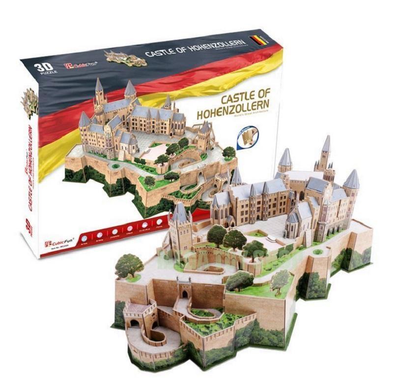 Hình ảnh Mô Hình giấy Cubic Fun Lâu Đài Hohenzollern ( Đức) MC232H