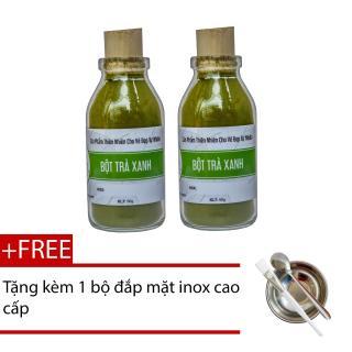 2 Hũ Bột Trà Xanh Bảo Nam 50g + Tặng Bộ Đắp Mặt Nạ Cao Cấp thumbnail