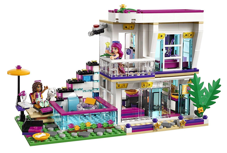Đồ chơi Lego Friends Livi's Pop Star House 41135 - Mô hình biệt thự của Livi