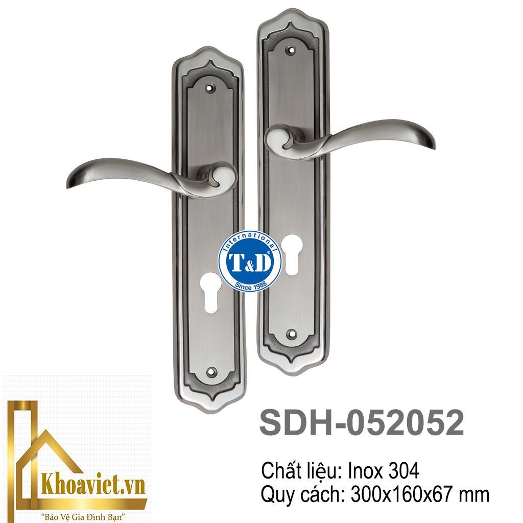 Khóa tay gạt Inox SDH-052052