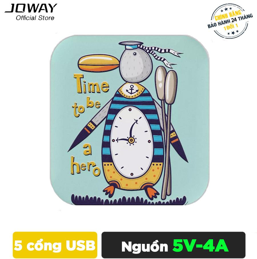 Ôn Tập Bộ Nguồn Sạc 5 Cổng Usb Joway Jc27 Cho Điện Thoại May Tinh Bảng Hang Phan Phối Chinh Thức Mới Nhất