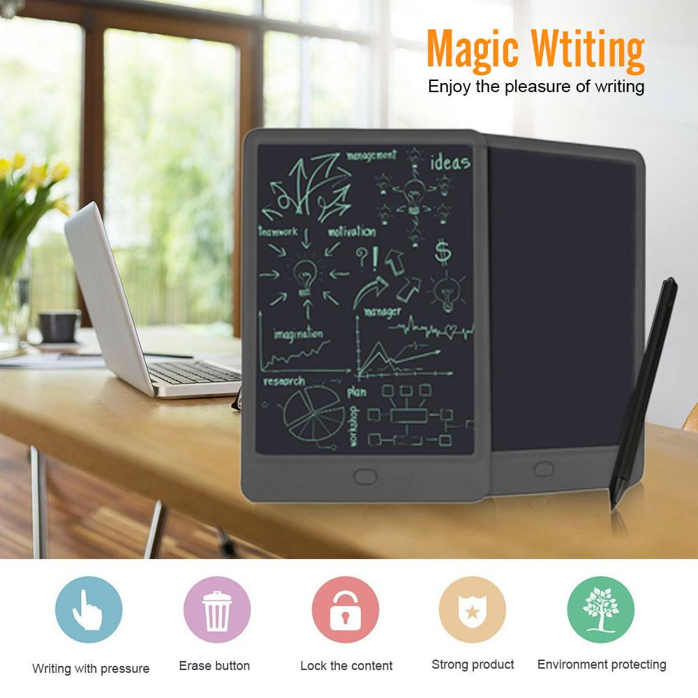 Hình ảnh 10 Inches Portable Writing Tablet LCD Drawing Board with Stylus Message Tracing