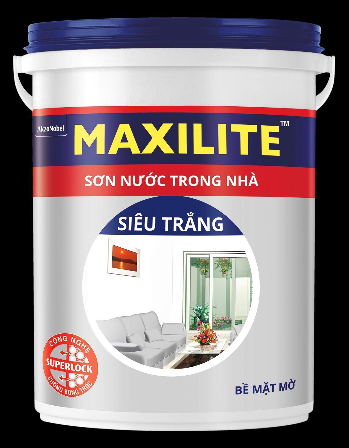 Hình ảnh Sơn nước trong nhà Maxilite Total