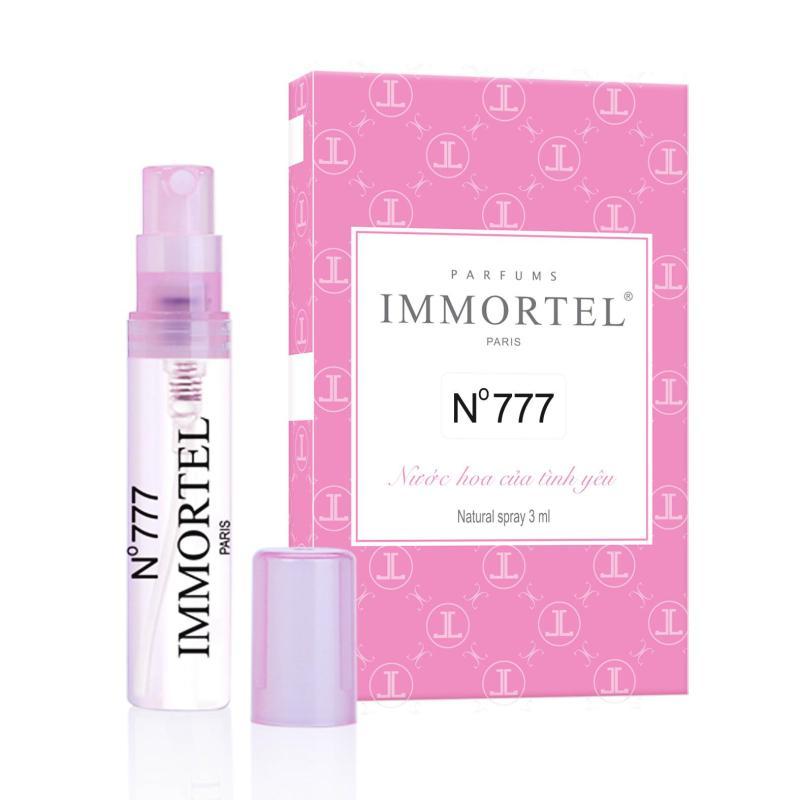 Nước hoa nữ IMMORTEL No777 Eau De Parfum 3ml