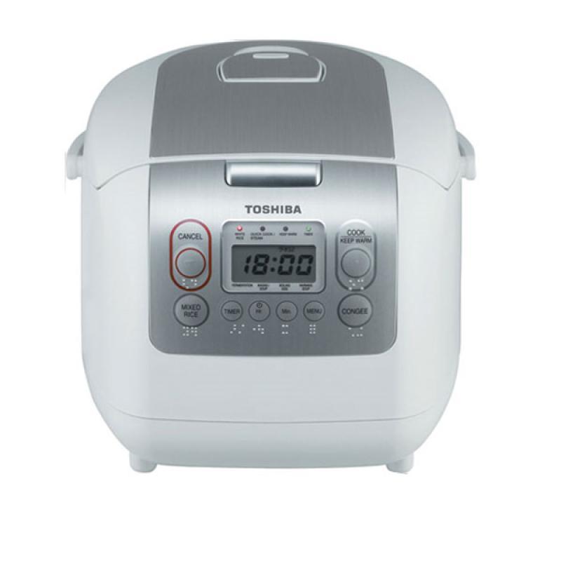 NỒI CƠM ĐIỆN TỬ TOSHIBA 1.8L RC-18NMFVN(WT) Toshiba – Review sản phẩm