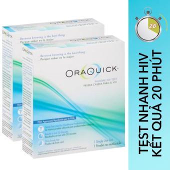 OraQuick In-Home HIV Test (Bộ tự xét nghiệm HIV chủng 1/2